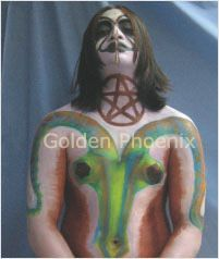 The Steps of Body Painting