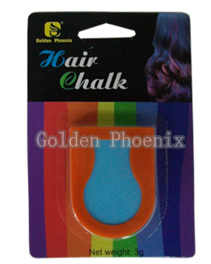 hair chalk orange