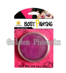 Water Based Body Painting Blister Packaging